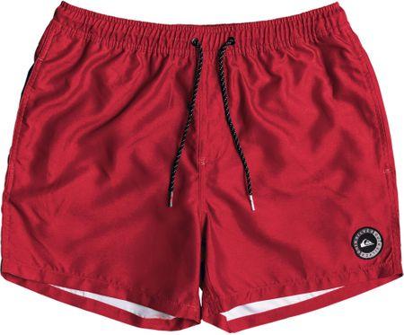Quiksilver moške kopalne hlače Everydvl15 M Jamv Kvj0 Black, L, rdeče