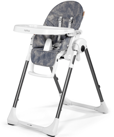 Peg Perego stolček za hranjenje Prima Pappa ZERO3, Denim