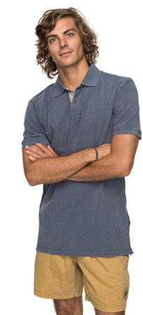 Quiksilver moška kratka majica Newmizkimitt M Kttp Byl0 Vintage Indigo, L, temno modra