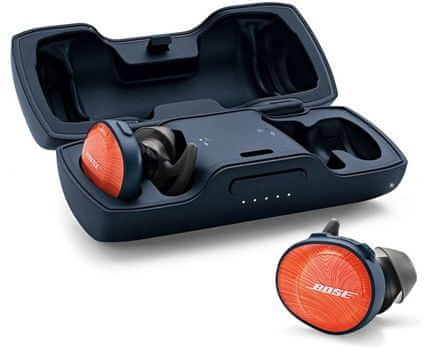 Bose SoundSport Free, slušalke, oranžne - Odprta embalaža