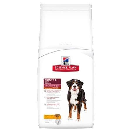 Hill's Canine hrana za pse Adult Large, piščanec, 12 kg