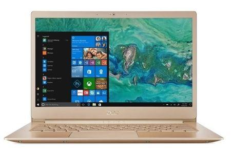 Acer prenosnik Swift 5 SF514-52TP-52RU i5-8250U/8GB/SSD256GB/14FHD/W10P, zlat (NX.H0CEX.001)