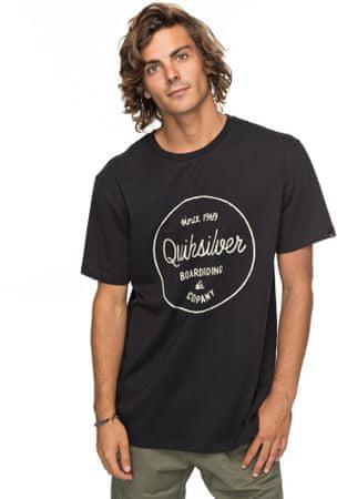 Quiksilver moška kratka majica Clmornslides M Tees Kvj0 Black, S, črna