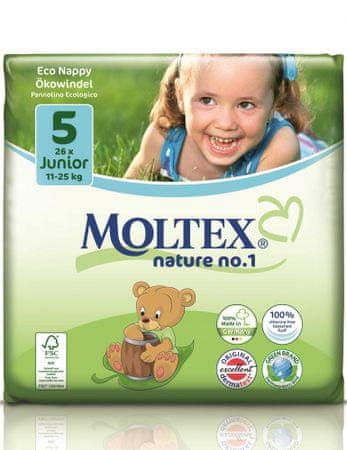 MOLTEX plenice Junior 11-25 kg, 26 kosov