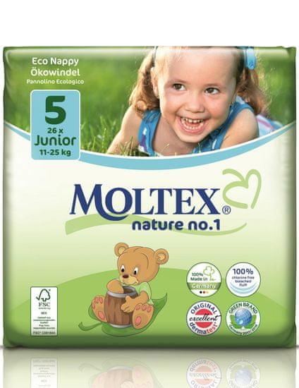 MOLTEX Junior 5 (11-25 kg) 26 ks