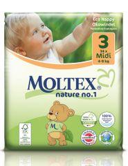 MOLTEX plenice Midi 4 - 9 kg, 34 kosov