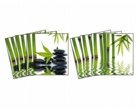 Dimex Nálepky na obkladačky - Zen kamene - 15 x 15 cm