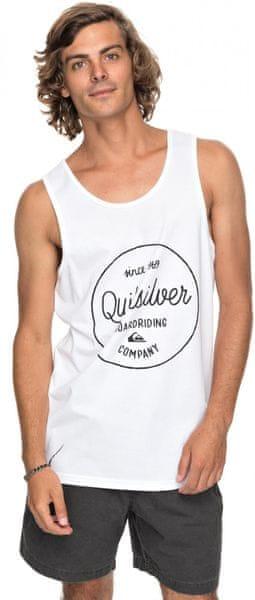 Quiksilver Morninslidetank M Tees Wbb0 White M