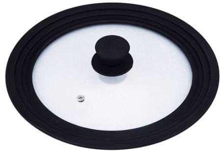 BERGNER steklen pokrov, univerzalen, 24-26-28 cm