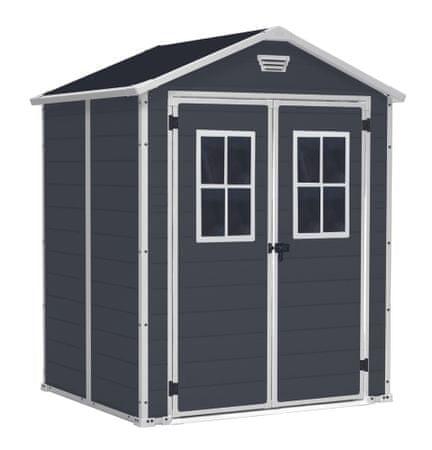 Rojaplast Domek MANOR 6x5 DD s okny