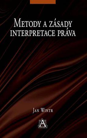 Wintr Jan: Metody a zásady interpretace práva