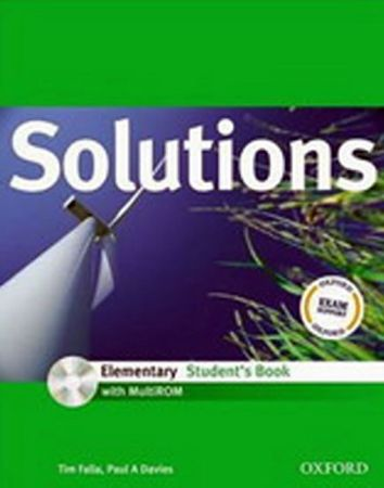 Falla Tim: Maturita Solutions Elementary Student´s Book with MultiROM Pack CZ