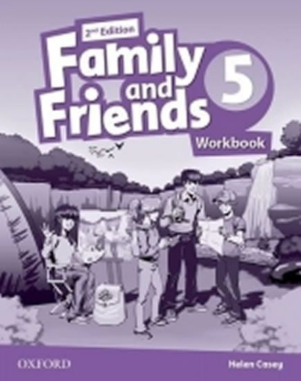 Casey Helen: Family and Friends 2nd Edition 5 Workbook