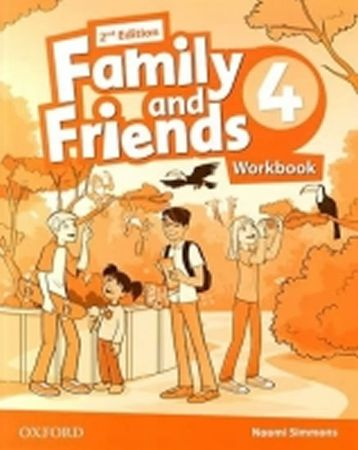 Simmons Naomi: Family and Friends 2nd Edition 4 Workbook