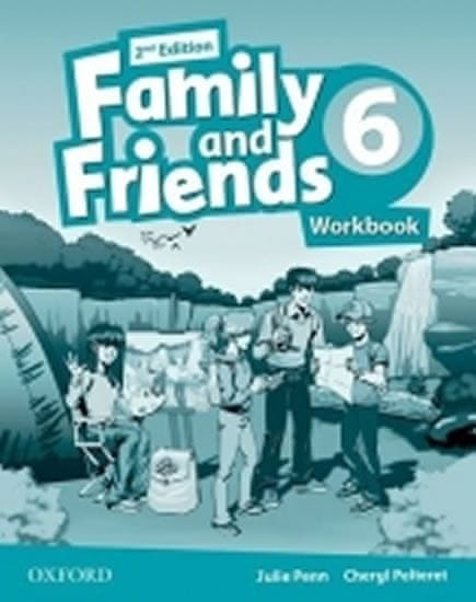 Penn Julie: Family and Friends 2nd Edition 6 Workbook