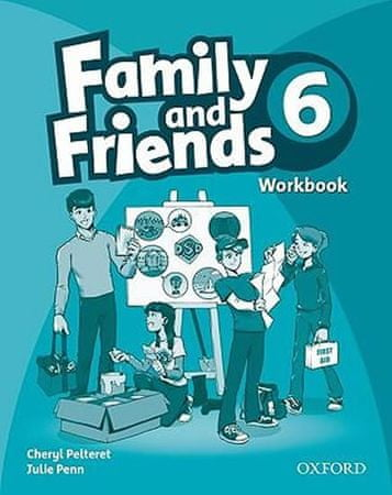 Simmons Naomi: Family and Friends 6 Workbook