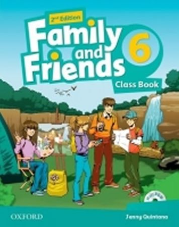 Quintana Jenny: Family and Friends 2nd Edition 6 Course Book with MultiROM Pack