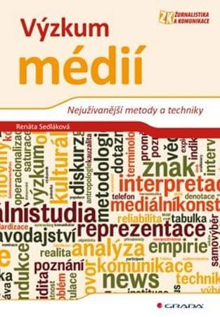 Sedláková Renáta: Výzkum médií - Nejužívanější metody a techniky