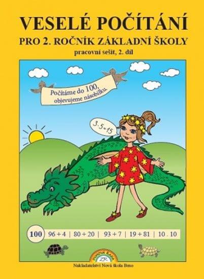 Rosecká Zdena: Veselé počítání - pracovní sešit pro 2. ročník ZŠ, 2. díl