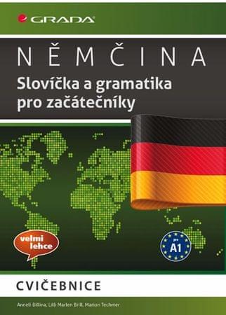 Billina Anneli a kolektiv: Němčina - Slovíčka a gramatika pro začátečníky A1