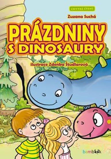 Suchá Zuzana: Prázdniny s dinosaury - Chytré čtení