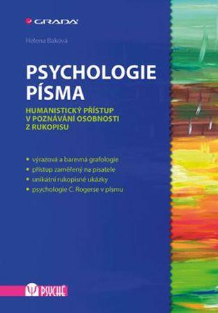 Baková Helena: Psychologie písma - Humanistický přístup v poznávání osobnosti z rukopisu