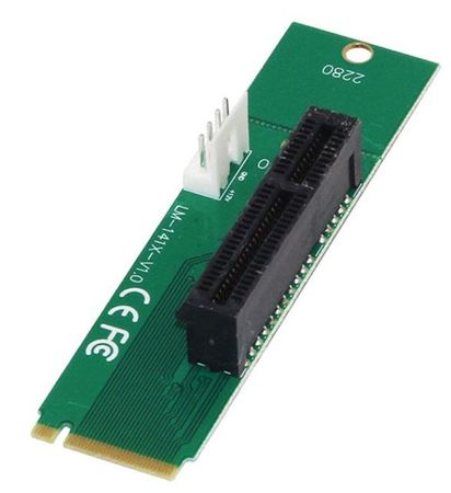 Razni adapter SC078 PCI-E 4x v M.2