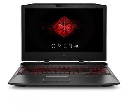 HP prenosnik Omen X 17-ap003nn i7-7820K/16GB/SSD256GB+1TB/GTX1070/FHD17,3/WIN10Home (2PK91EA)