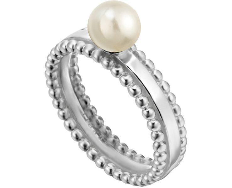 Esprit Stříbrný prsten se syntetickou perlou Powder ESRG002011 (Obvod 51 mm) stříbro 925/1000