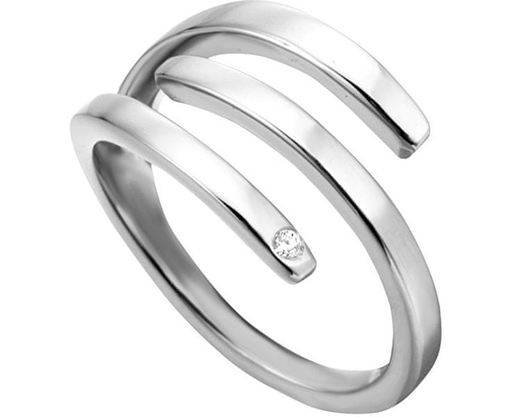 Esprit Stylový ocelový prsten Iva ESRG001614 57 mm