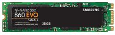 Samsung SSD disk 860 EVO 250 GB, M.2 2280, SATA3