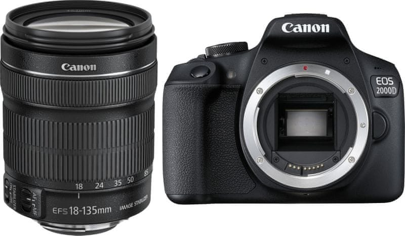 Canon EOS 2000D + 18-135 IS STM (2728C016)
