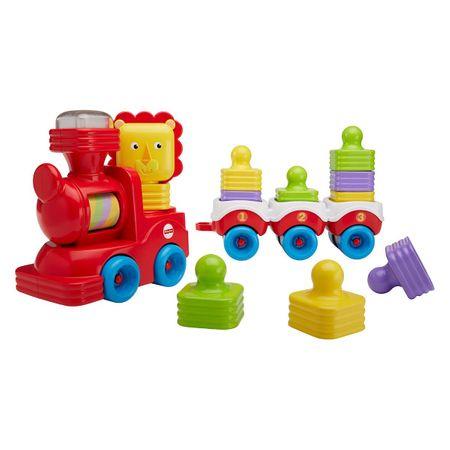 Fisher-Price vlak levček s sestavljivimi vagoni