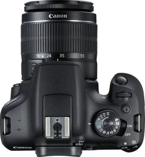 Canon Lustrzanka EOS 2000D + 18-55 IS + LP-E10