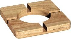 Zassenhaus Stojánek na hrnec/tablet, světlé dřevo
