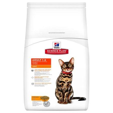 Hill's hrana za odrasle mačke Feline Light 5 kg