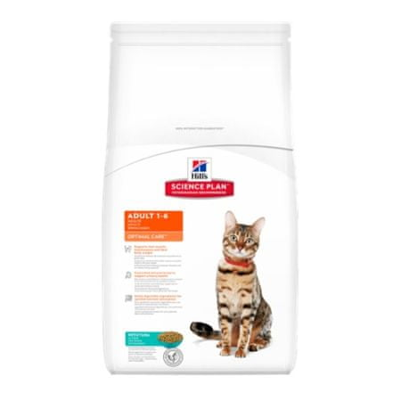 Hill's sucha karma dla kota SP Adult Optimal Care Tuna - 2 kg