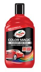 Turtle Wax Autovosk Color Magic, s voskem Carnauba, červený, 500 ml