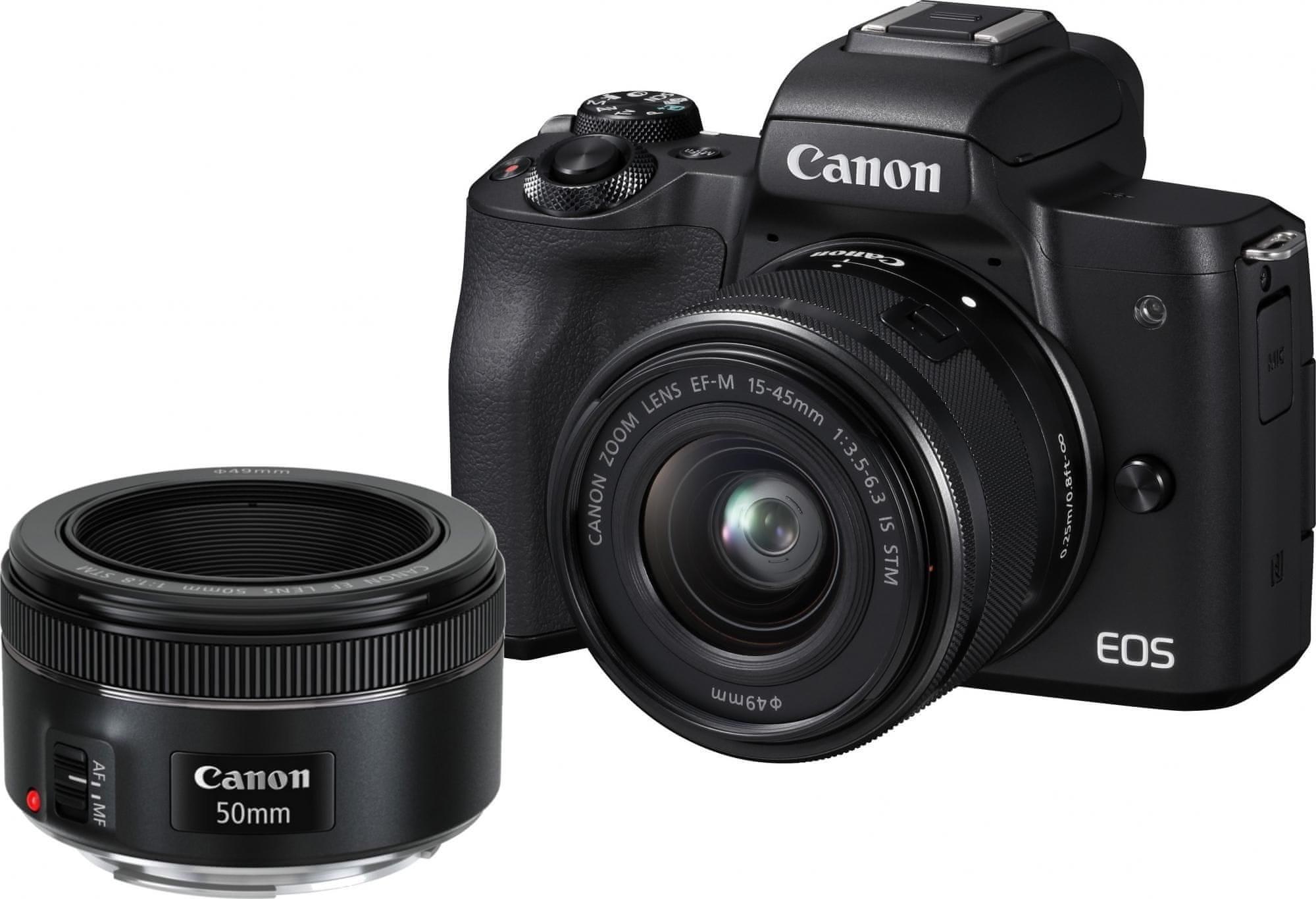 Canon EOS M50 15-45 50