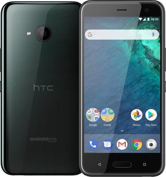 HTC U11 Life, SingleSIM, Brilliant Black