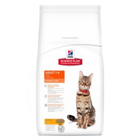 Hill's Feline Adult Optimal Care 10kg