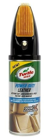 Turtle Wax Čistič kůže, Power Out Leather, 400 ml