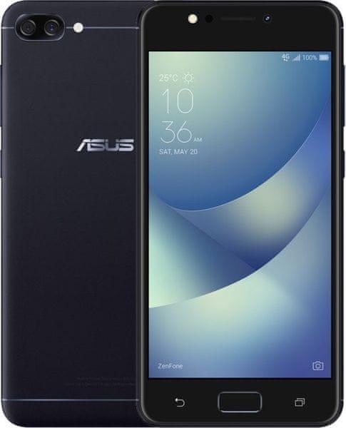 Asus ZenFone 4 Max, (ZC520KL), 2GB/16GB, černý
