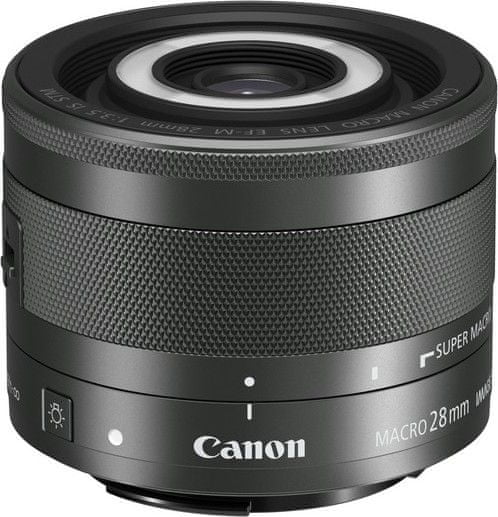 Canon EF-M 28mm f/2.0 IS STM MACRO 1362C005AA