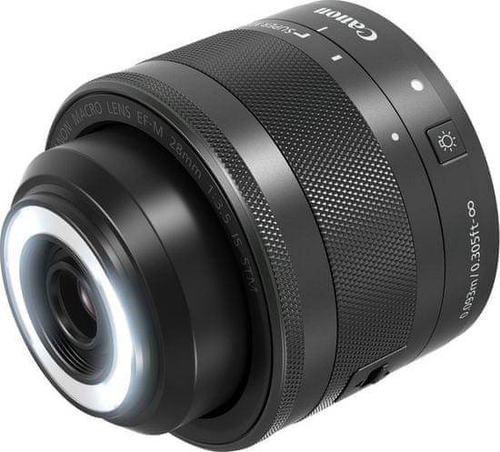 Canon objektiv EF-M 28mm f/3.5 Macro IS STM