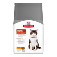 Hill's SP Adult Hairball Control Chicken macskaeledel - 5 kg