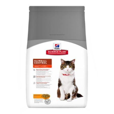 Hill's hrana za mačke Feline Hairball Control 5 kg