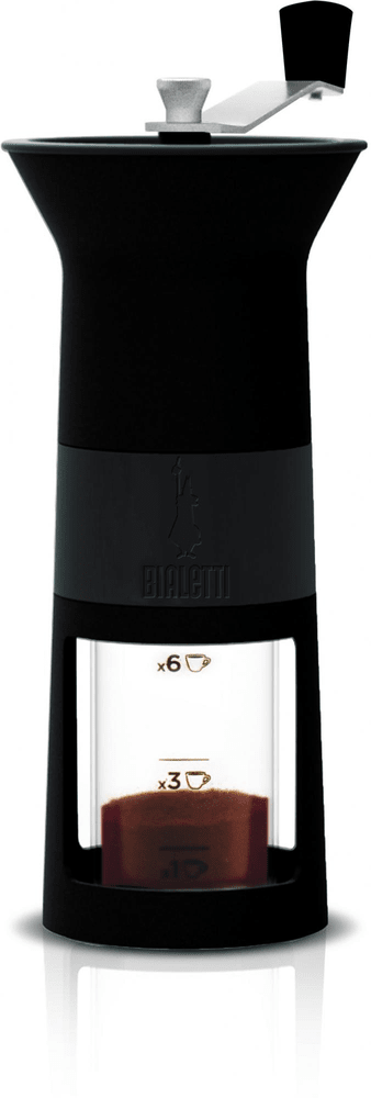 Bialetti Ruční mlýnek na kávu černý