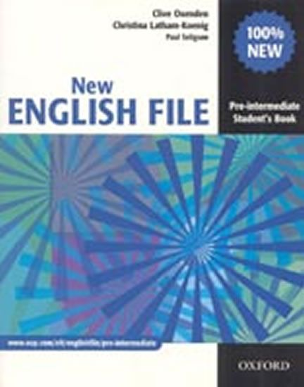 Oxenden Clive, Latham-Koenig Christina,: New English File Pre-intermediate Student´s Book
