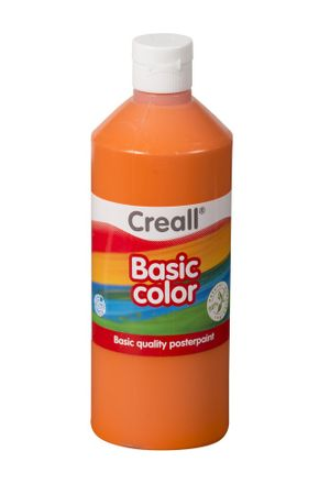 Barva temperová 0,5 l oranžová